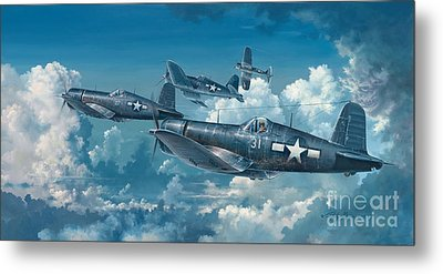 The Old Breed Metal Print by Randy Green