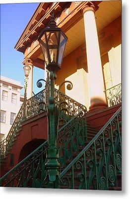 The Old City Market In Charleston Sc Metal Print by Susanne Van Hulst