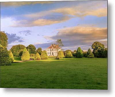 The Old Country House Metal Print by Roy McPeak