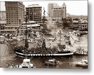 The Old Crew Of Gaspar Metal Print by David Lee Thompson