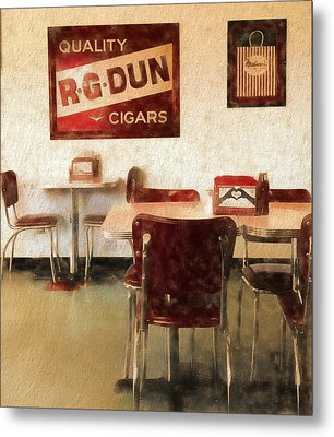 The Old Diner Metal Print by Dan Sproul