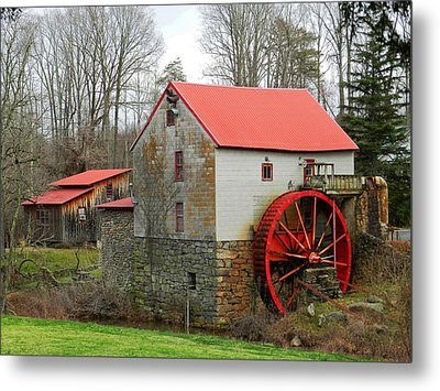 The Old Guilford Mill Metal Print