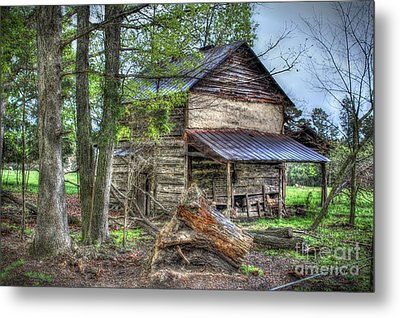 The Old Home In The Hills Metal Print