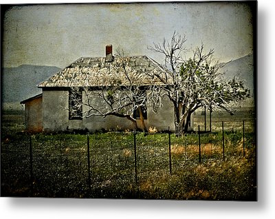 The Old House Metal Print