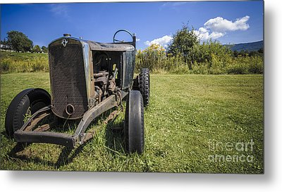The Old Jalopy Metal Print by Edward Fielding