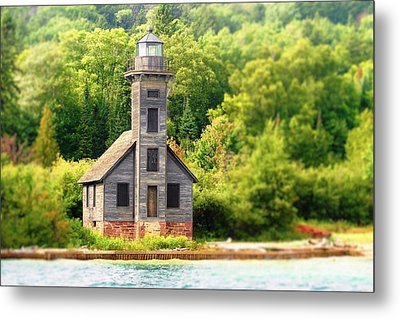 The Old Light Metal Print
