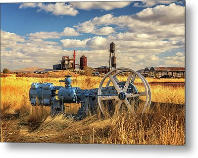 The Old Lumber Mill Metal Print by James Eddy