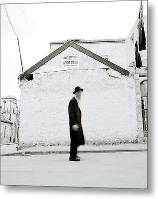 The Old Man Of Mea Shearim Metal Print by Shaun Higson
