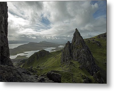 The Old Man Of Storr Metal Print by Dubi Roman