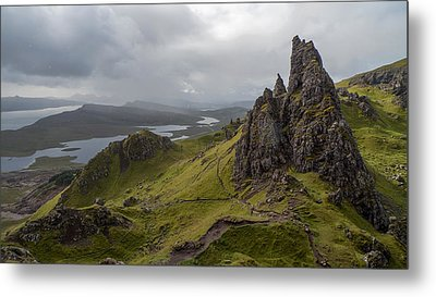 The Old Man Of Storr, Isle Of Skye, Uk Metal Print by Dubi Roman
