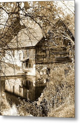 The Old Mill Metal Print by Michael Dorn