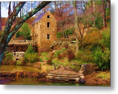 The Old Mill Metal Print by Renee Skiba