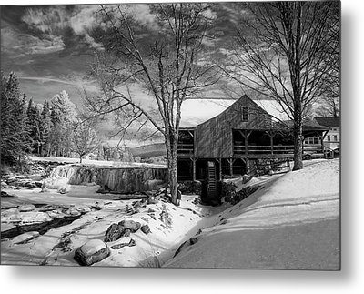 The Old Mill - Weston, Vermont Metal Print