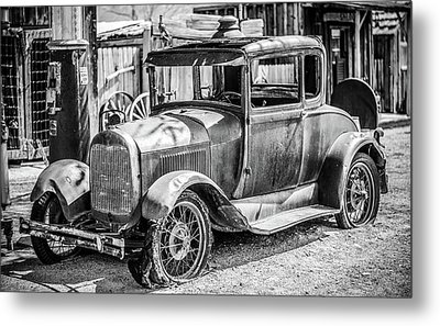 The Old Model Metal Print
