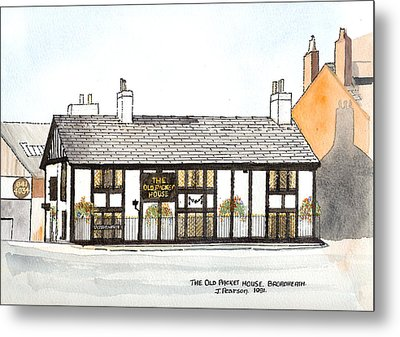 The Old Packet House Metal Print by Max Blinkhorn