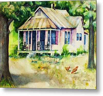 The Old Place Metal Print by Rebecca Korpita