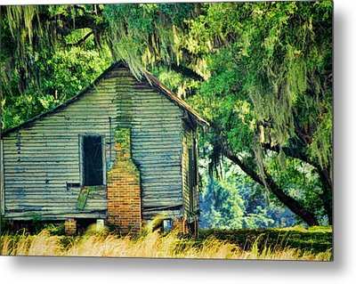Metal Print featuring the photograph The Old Slaves Quarters by Jan Amiss Photography