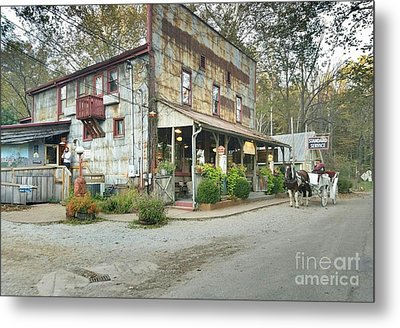 The Old Story Inn 1851 Nashville Indiana - Original Metal Print