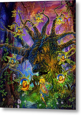The Old Tree Of Dreams Metal Print