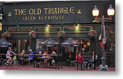 The Old Triangle Alehouse Metal Print