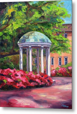 The Old Well Unc Metal Print by Jeff Pittman