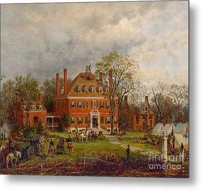 The Old Westover House Metal Print