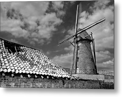 The Old Windmill Metal Print by Jeremy Lavender Photography