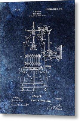 The Old Wine Press Metal Print