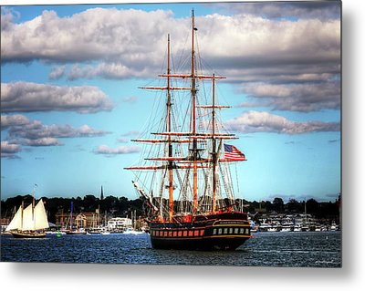 Metal Print featuring the photograph Tall Ship The Oliver Hazard Perry by Tom Prendergast