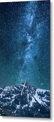 Metal Print featuring the photograph The One Who Holds The Stars by Aaron Spong