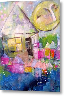 Metal Print featuring the painting The Open Door by Eleatta Diver
