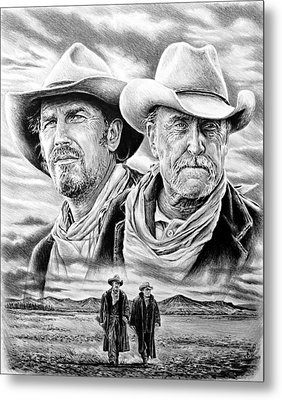 The Open Range Metal Print by Andrew Read
