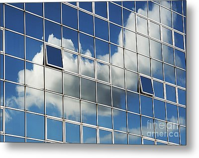 The Open Windows Metal Print by Tim Gainey