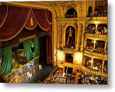 The Opera House Of Budapest Metal Print by Madeline Ellis