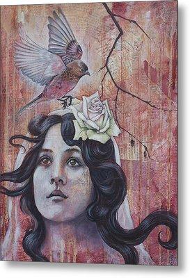 The Oracle Metal Print by Sheri Howe