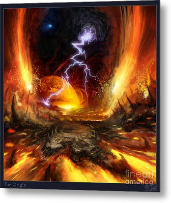 The Origin Metal Print by Tony Koehl