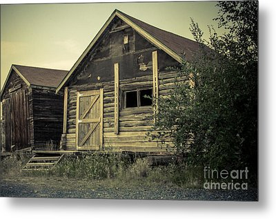 The Other Old Shed Metal Print by Lisa Killins