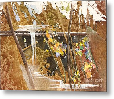 The Other Place Metal Print by Jackie Mueller-Jones
