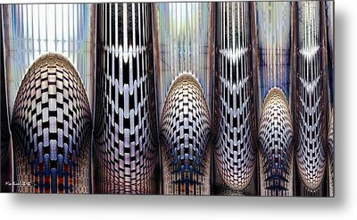 Metal Print featuring the digital art The Others by Kim Redd