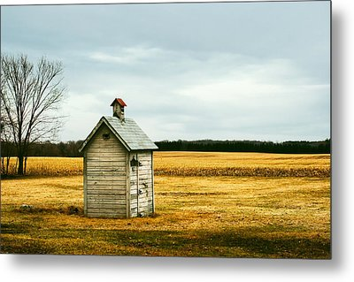 The Outhouse Metal Print by Todd Klassy