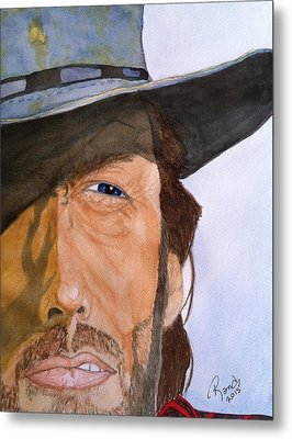 The Outlaw Josey Wales Metal Print by Rand Swift