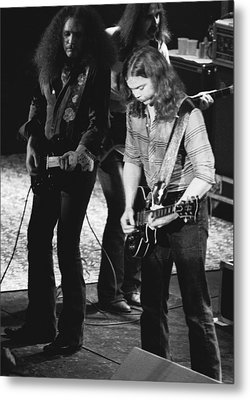 The Outlaws Rock Winterland 3 Metal Print