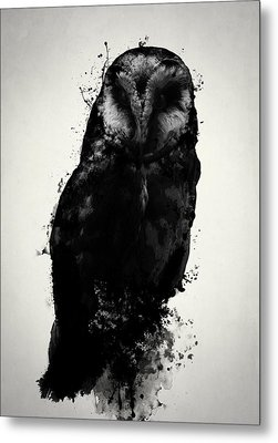 The Owl Metal Print by Nicklas Gustafsson