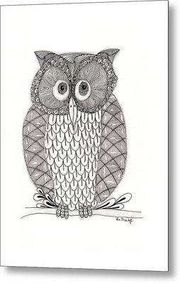 The Owl's Who Metal Print