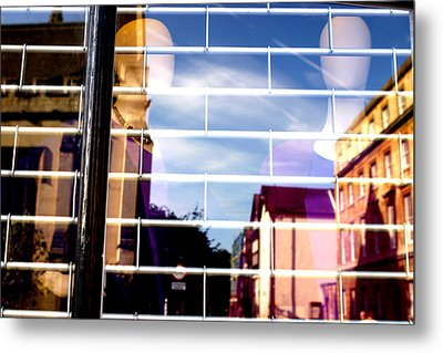 The Oxford Wall Metal Print by Jez C Self