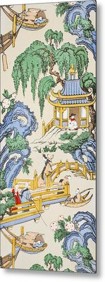 The Pagoda Metal Print by Harry Wearne