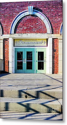 Metal Print featuring the photograph The Paramount Theatre by Colleen Kammerer
