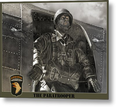 The Paratrooper Metal Print