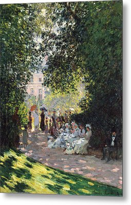 The Parc Monceau Metal Print