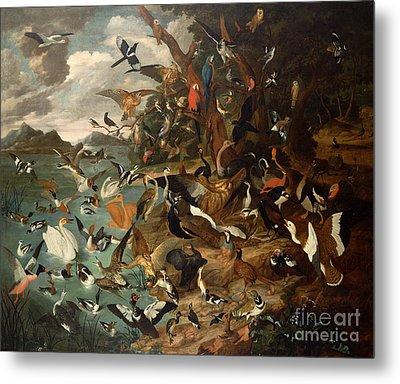 The Parliament Of Birds Metal Print